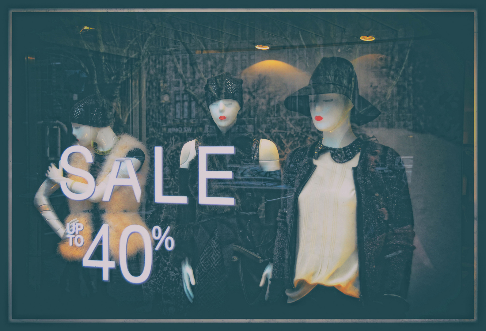 Sale up to 40 %