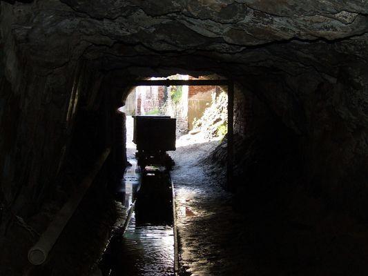 Salida de la mina