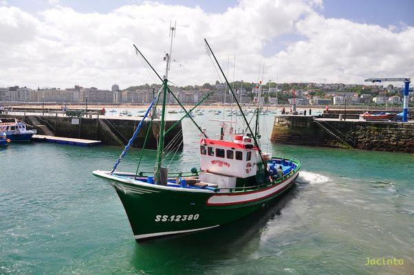 Salida del Puerto ( San Sebastian )