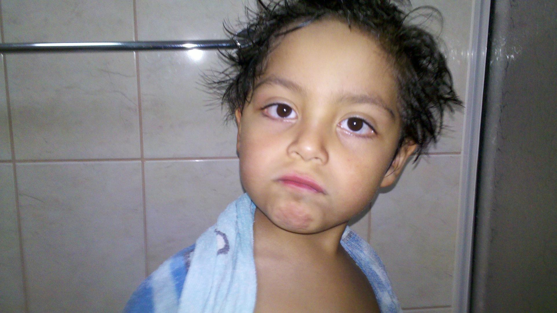 Saliendo de la ducha