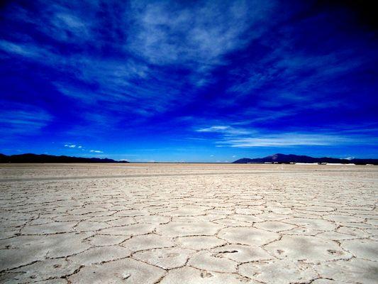 Salinas Grandes en la Puna Argentina