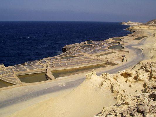 Salinen am Reqqa Point