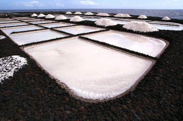 Salinen in El Faro