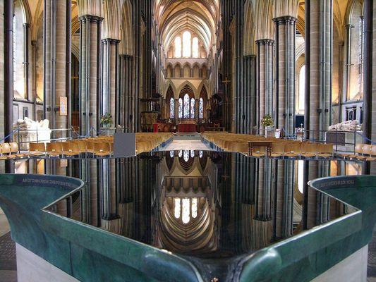 Salisbury - in der Kathedrale