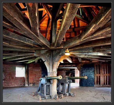 Salle des canons Haut Koenisbourg