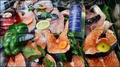 Salmon au restaurant