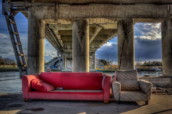Salotto sul fiume