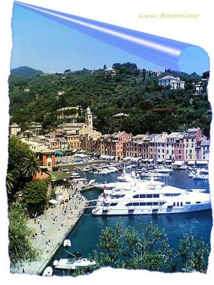 Saluti da Portofino
