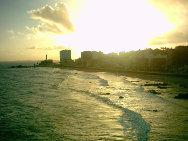 Salvador / Praia Barra - Sonnenuntergang