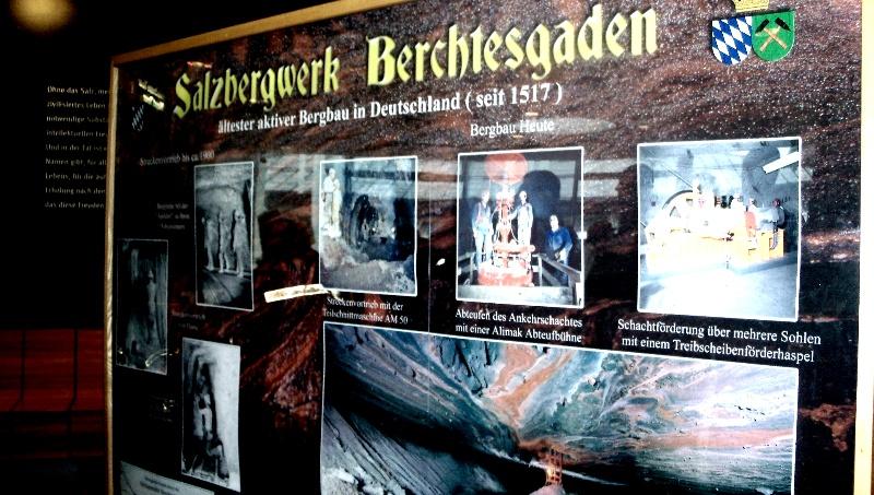 Salzabbauwerk Berchtesgarden