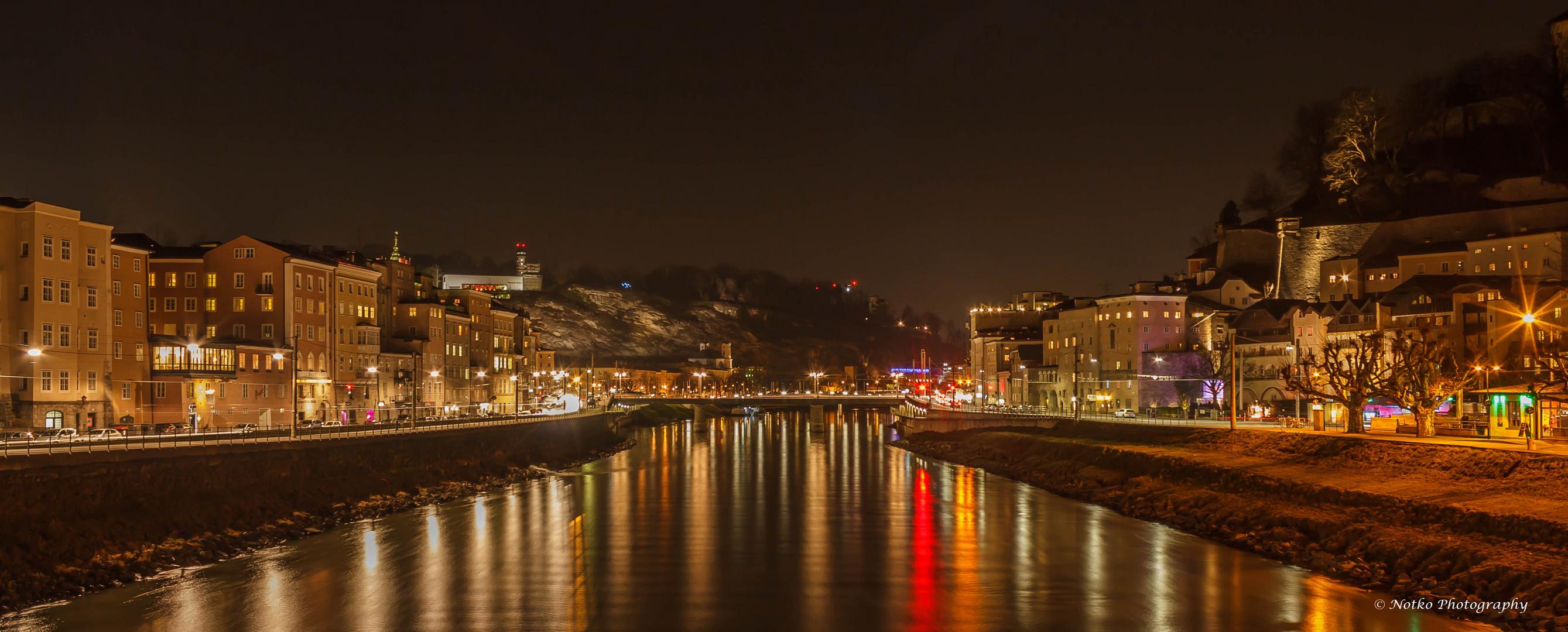 Salzburg am Nacht