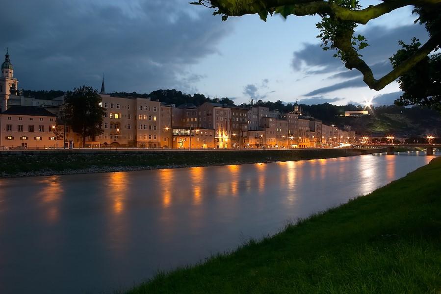 Salzburg bei Nacht 2