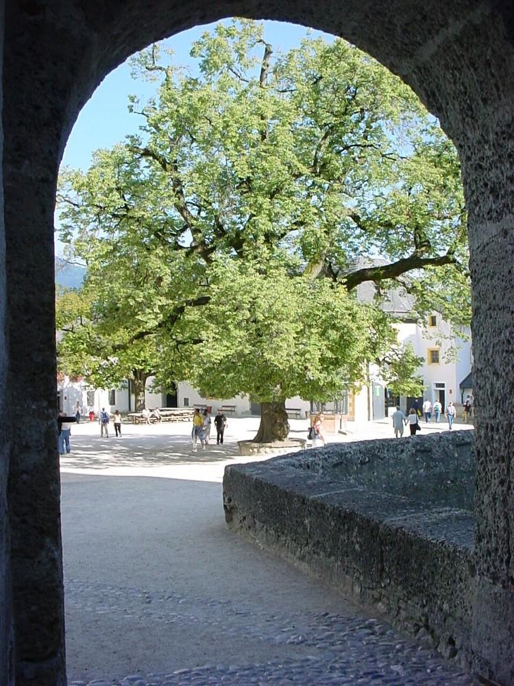 Salzburg (Innenhof der Burg)