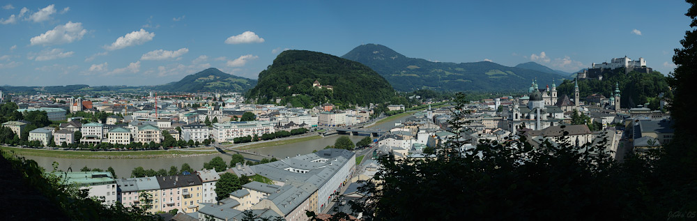 Salzburg vom Mönchsberg