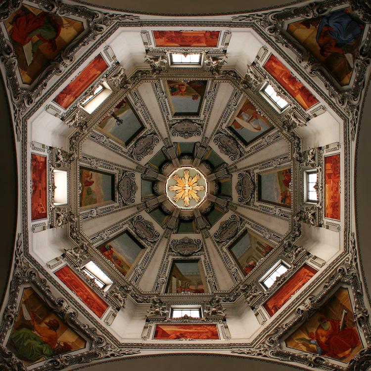 Salzburger Dom, Kuppe