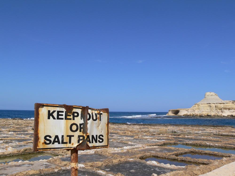 Salzfelder auf Gozo