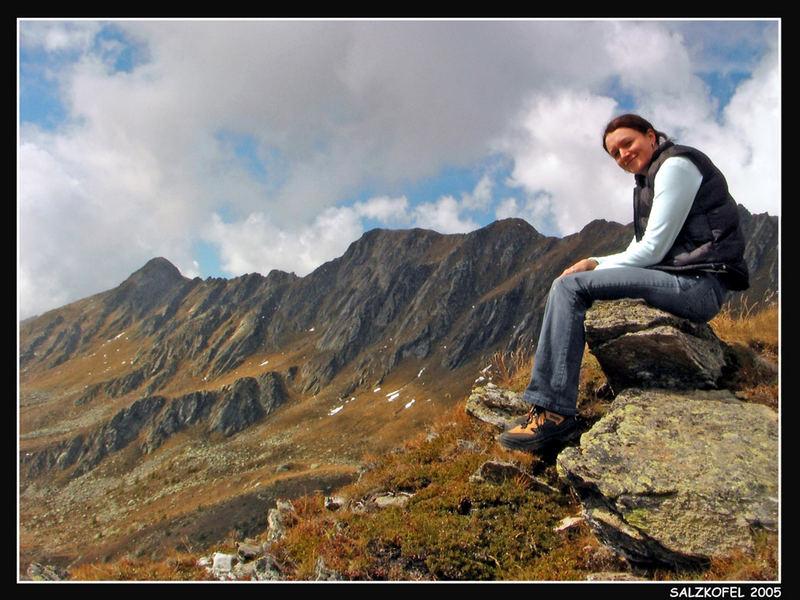 Salzkofel-Bergkette