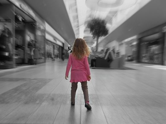 Samantha in the Mall
