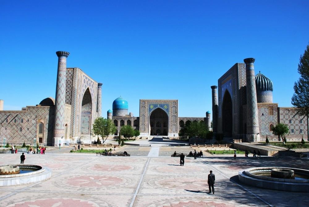 Samarkand - Registanplatz