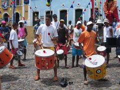 Samba Reggae no Pelorinho em Salvador