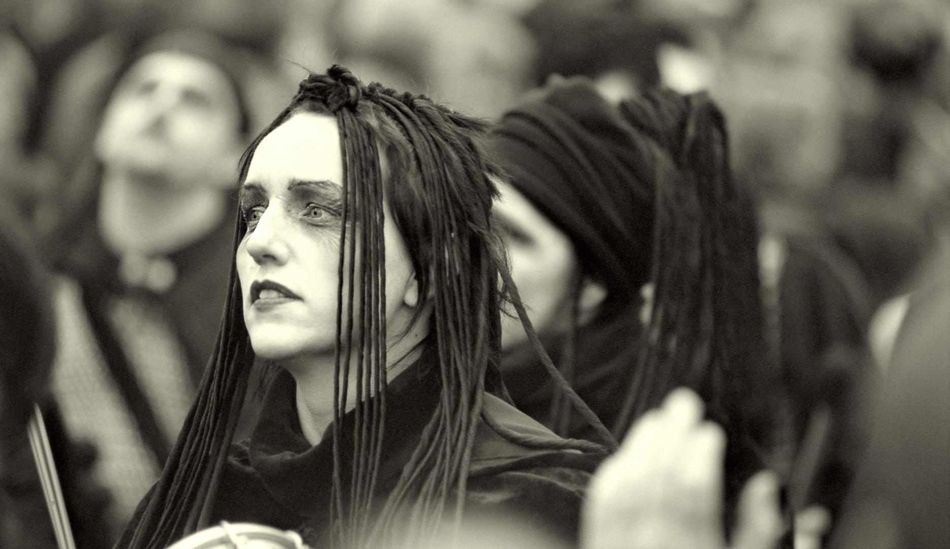 Sambakarneval Bremen, schwarze Schwestern-2