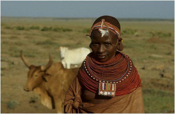 Samburu-Mädchen