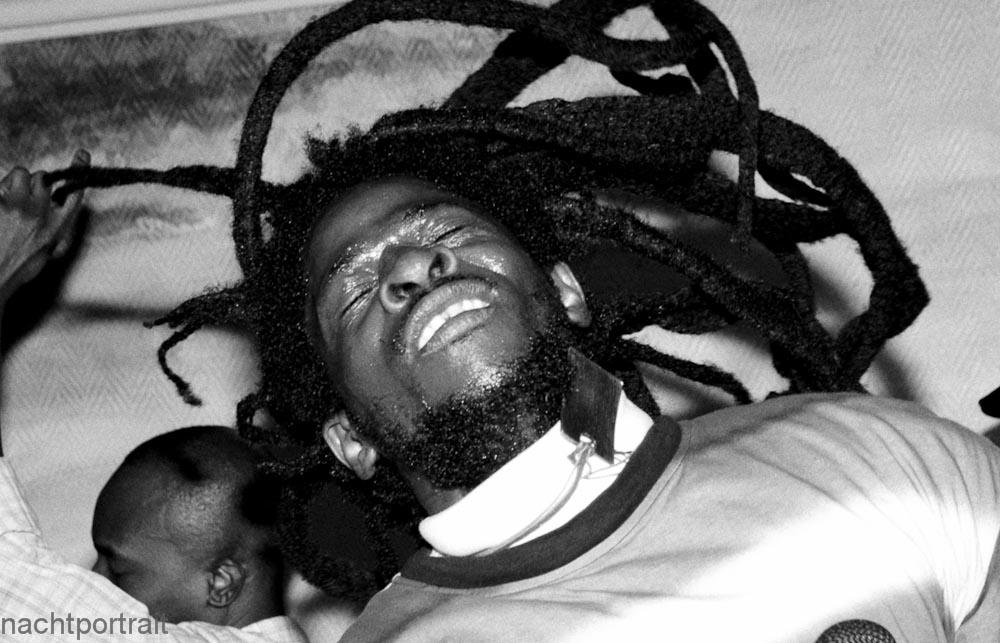 Samedi soir au club reggae