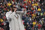 Sammy Deluxe sang in Frankfurt ....