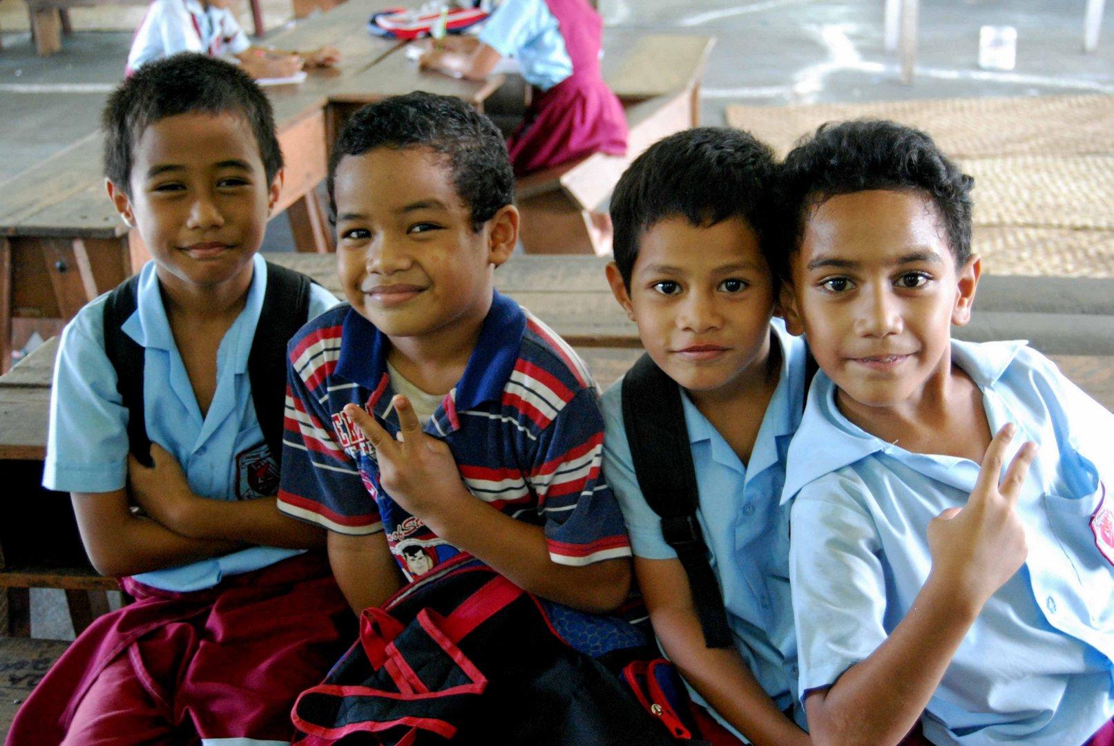 Samoas Kinder