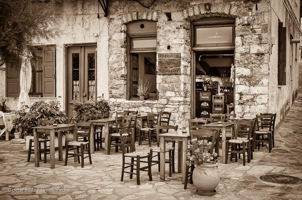 Samos - Kafenio Barba Giannakaki
