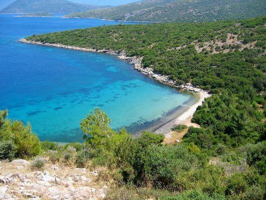 Samos, nordöstlich, einsame Bucht