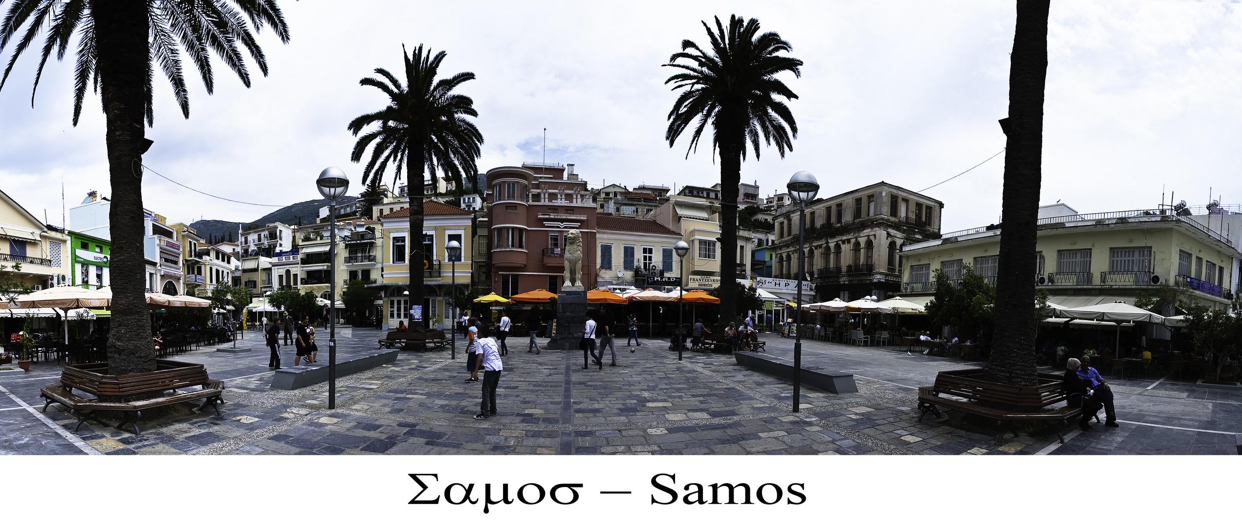Samos Stadt Platia