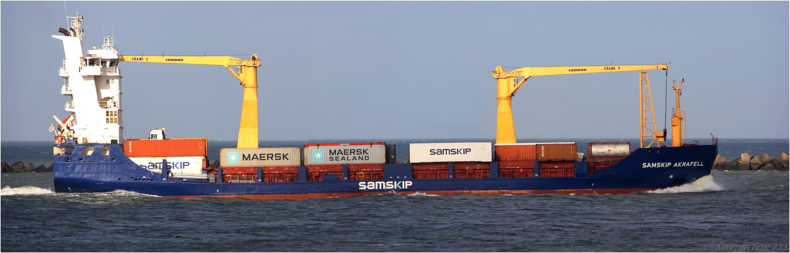SAMSKIP AKRAFELL /  General Cargo / Maasmond / Rotterdam