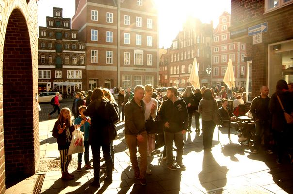 Samstagnachmittag in Lüneburg