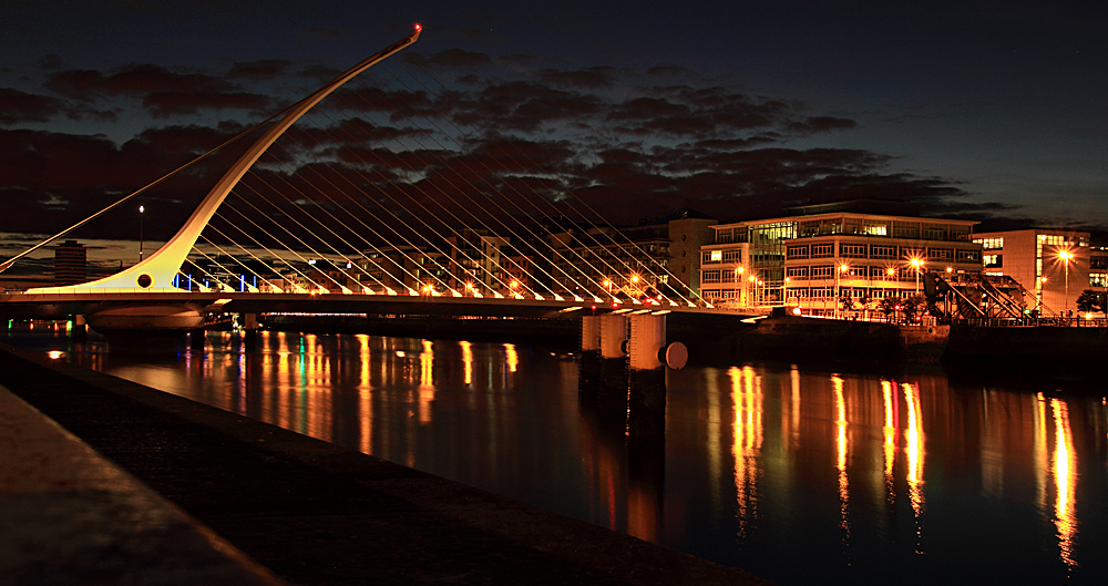 Samuel Beckett Bridge...