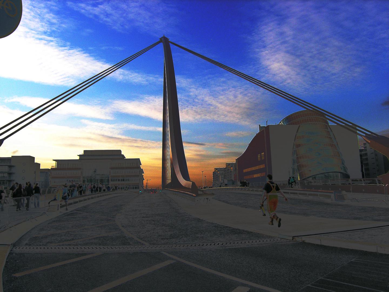 Samuel Beckett Bridge - Dublin - Ireland