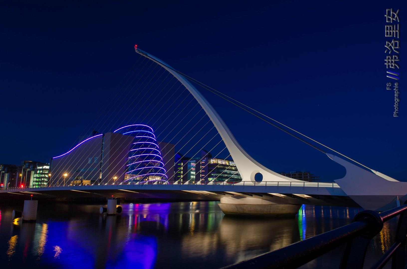 Samuell Beckett Bridge, Dublin