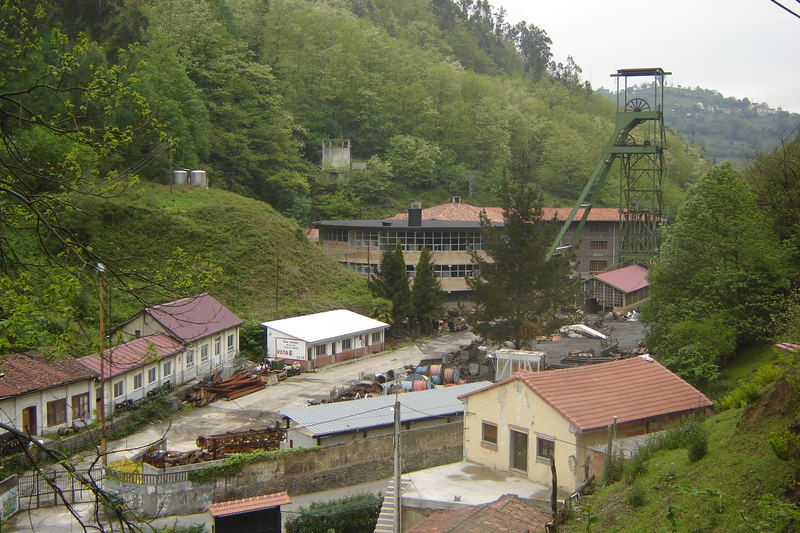 Samuño colliery; Asturias - Northern Spain