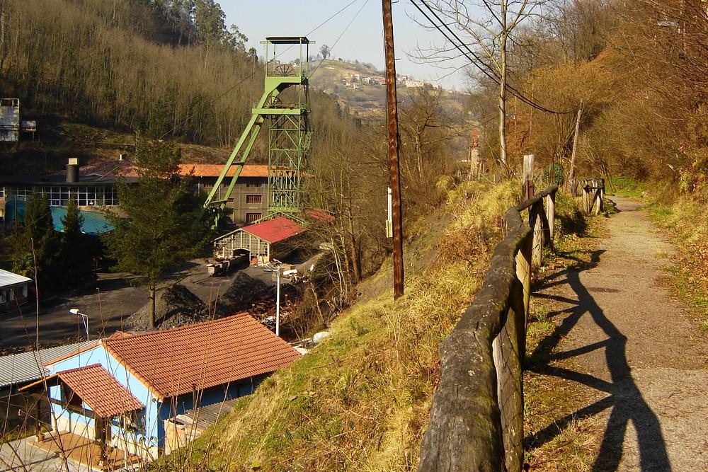 Samuño colliery; Asturias - Northern Spain.