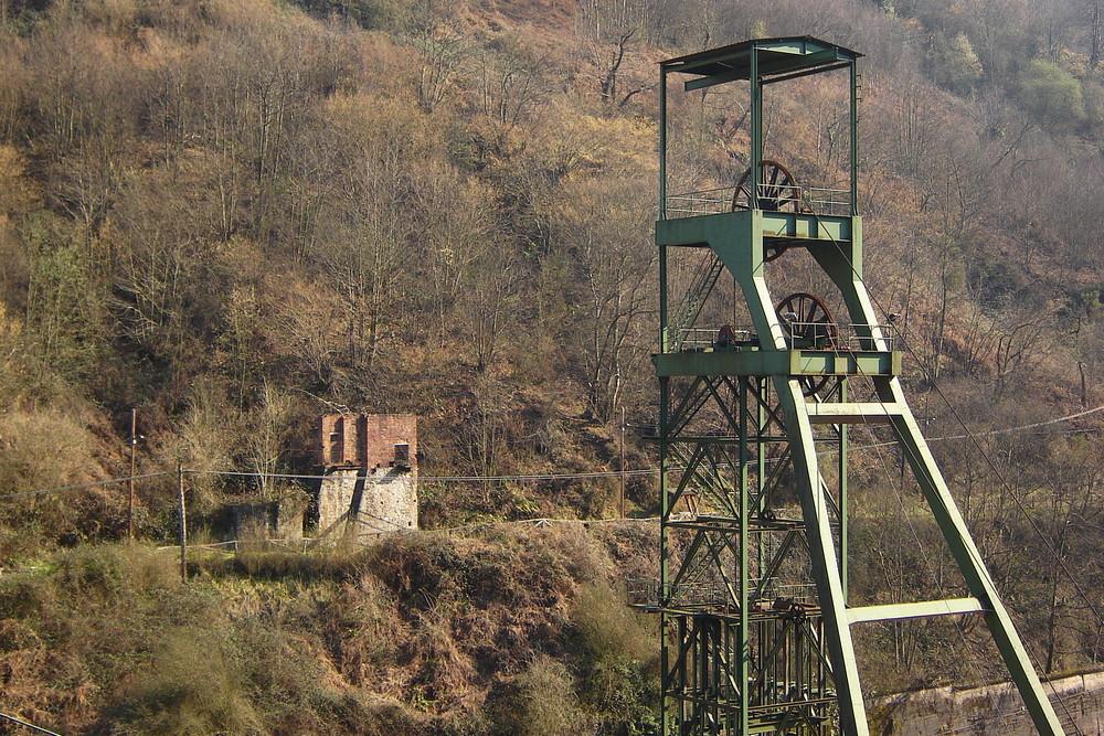 Samuño colliery; Asturias - Northern Spain