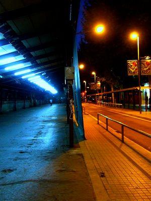 San Antoni, de noche...