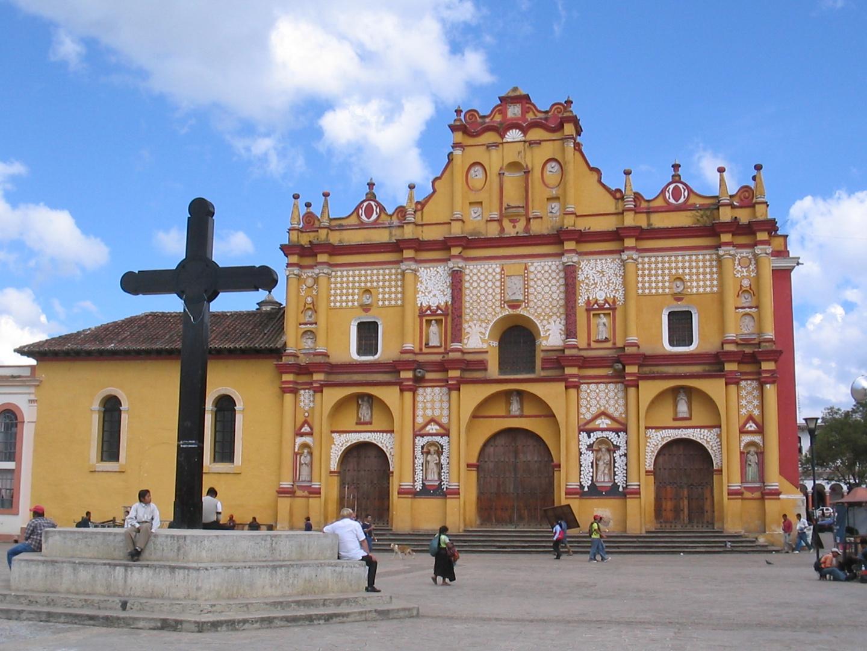 San Cristobal Kathedrale in Chiapas