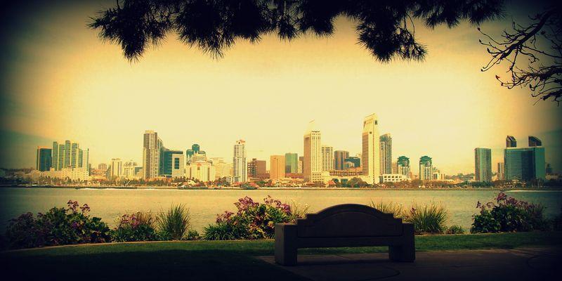 San Diego from Coronado, California, USA 2011