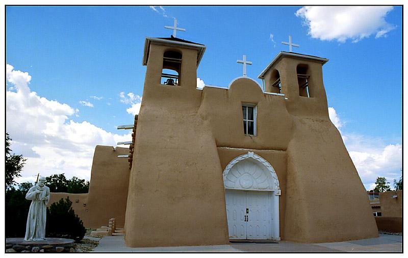 San Francisco de Asis in Taos - New Mexico, USA