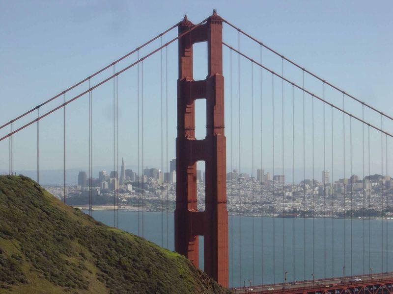 San Francisco durch die Golden Gate