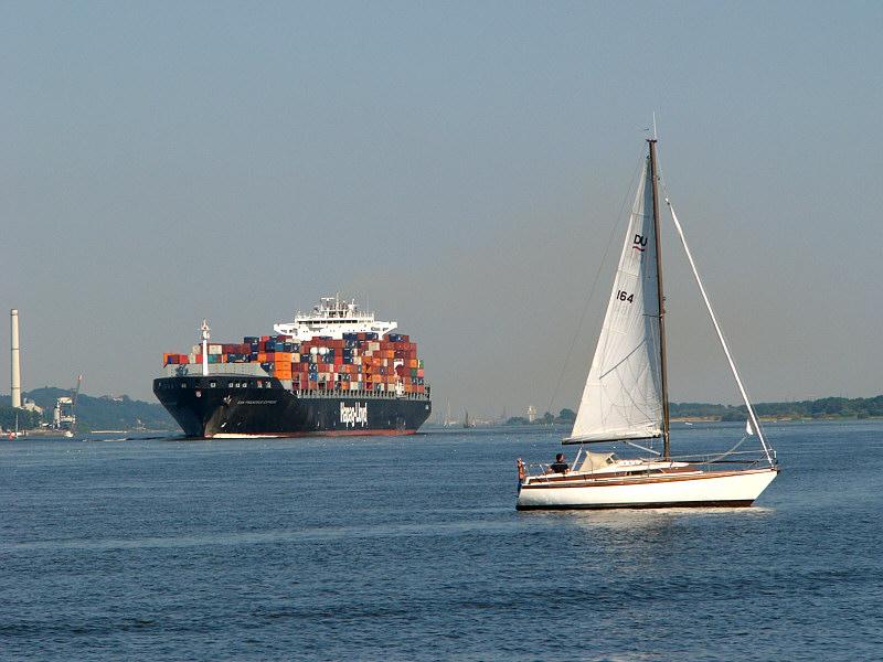 San Francisco Express und Segler
