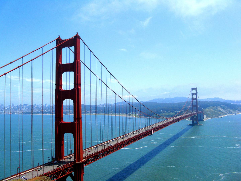 san francisco golden gate bridge usa kalifornien. Black Bedroom Furniture Sets. Home Design Ideas