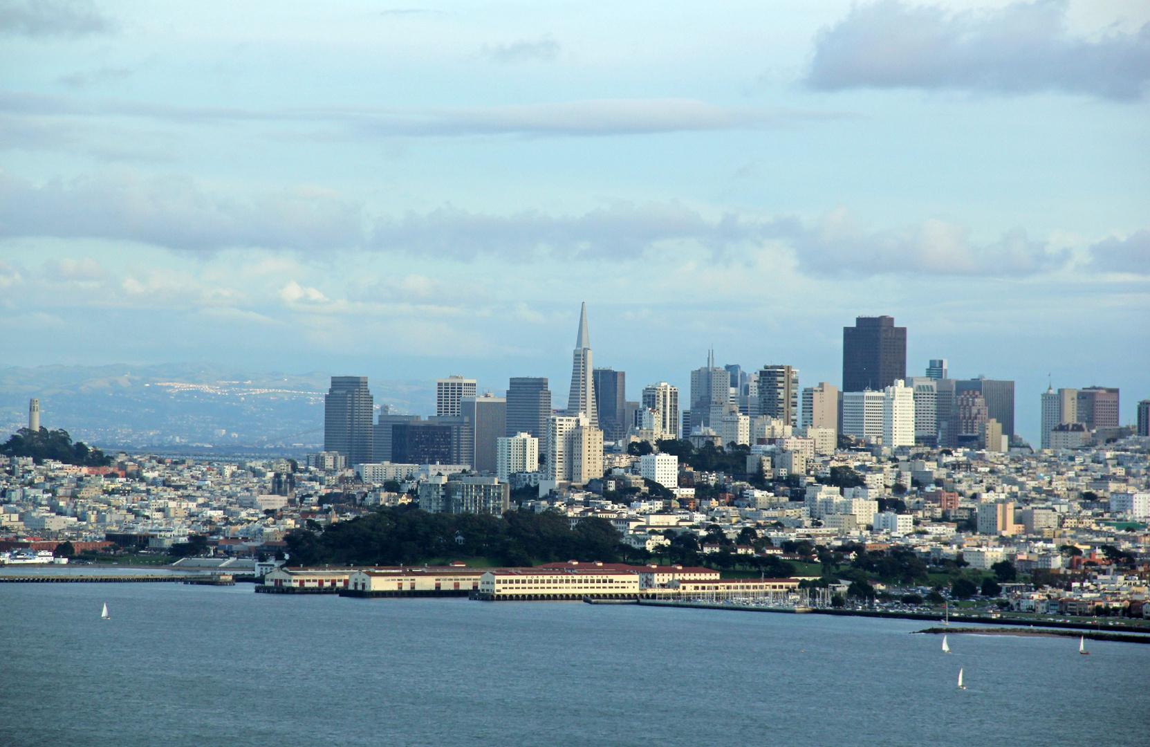 San Francisco - im Abendlicht