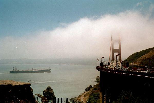 San Francisco im Nebel