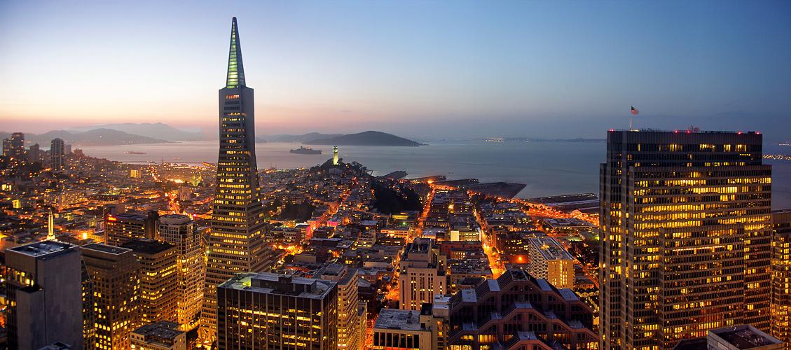 San Francisco Lichter